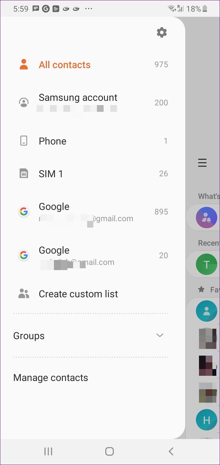 O que acontece quando você remove a Conta do Google do telefone 15