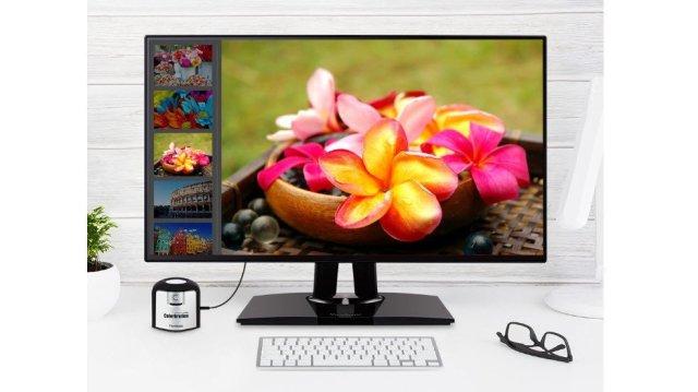 Monitor ViewSonic VP2768 4K Pro de 27 polegadas