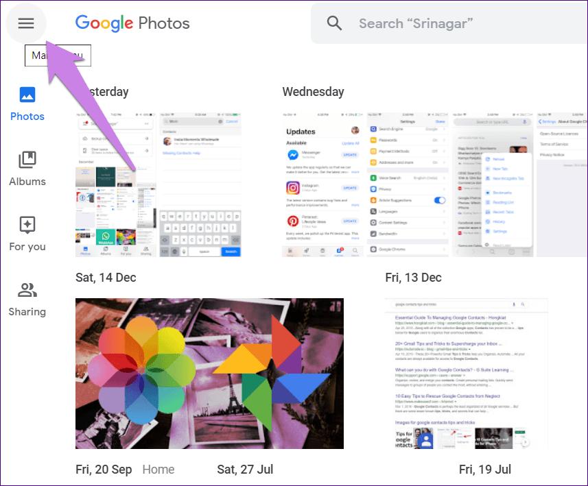 Excluir fotos do Google Fotos, mas não do Icloud 4