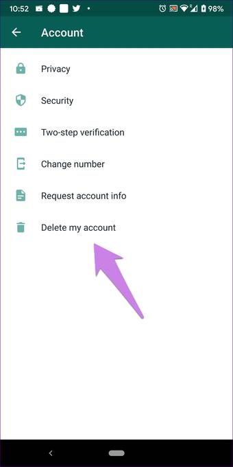 """O que acontece Excluir a conta do WhatsApp 14 """"width ="""" 702 """"height ="""" 1402 """"data-size ="""" auto """"size ="""" (largura mínima: 976px) 700px, (largura mínima: 448px) 75vw, 90vw """"srcset ="""" https://www.aplicativosandroid.com/wp-content/uploads/2019/12/1577387249_531_O-que-acontece-quando-voce-exclui-a-conta-do-WhatsApp.png 702w, https://cdn.guidingtech.com/imager /media/assets/2019/12/249440/what-happens-delete-whatsapp-account-14_935adec67b324b146ff212ec4c69054f.png?1576827299 700w, https://cdn.guidingtech.com/imager/media/assets/2019/12/249440/ O que acontece com a exclusão do whatsapp-conta-14_40dd5eab97016030a3870d712fd9ef0f.png? 1576827300 500w, https://cdn.guidingtech.com/imager/media/assets/2019/12/249440/what-happens-delete-whatsapp-account-14_7c4a12a7a1a .png? 1576827301 340w"""