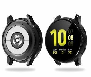Acessórios indispensáveis para o Samsung Galaxy Watch Active2 - Protetor de tela Tensea Full Around
