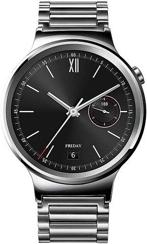 Melhores pulseiras para relógios Huawei Watch e Huawei Watch 2: relógio em aço inoxidável Huawei