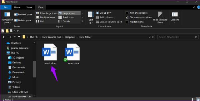 Corrigir o Dropbox não conectar ou sincronizar no Windows 10 Erro 5