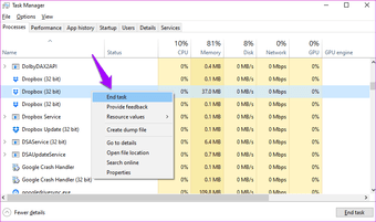 """Corrigir o Dropbox não conectar ou sincronizar no Windows 10 Erro 14 """"width ="""" 838 """"height ="""" 494 """"tamanhos de dados = tamanhos"""" automáticos """"="""" (largura mínima: 976px) 700px, (largura mínima: 448px) 75vw, 90vw """"srcset ="""" https://www.aplicativosandroid.com/wp-content/uploads/2020/01/1579710025_339_11-melhores-maneiras-de-corrigir-o-Dropbox-nao-conectando-ou.png 838w, https://cdn.guidingtech.com/imager/assets/2020/01/547322/Fix-Dropbox-Not-Connecting-or-Syncing-on-Windows-10-Error-14_935adec67b324b146ff212ec4c69054f.png?1579339983 700w, https : //cdn.guidingtech.com/imager/assets/2020/01/547322/Fix-Dropbox-Not-Connecting-or-Syncing-on-Windows-10-Error-14_40dd5eab97016030a3870d712fd9ef0f.png? 1579339983 500w, https: // cdn.guidingtech.com/imager/assets/2020/01/547322/Fix-Dropbox-Not-Connecting-or-Syncing-on-Windows-10-Error-14_7c4a12eb7455b3a1ce1ef1cadcf29289.png?1579339984 340w"""