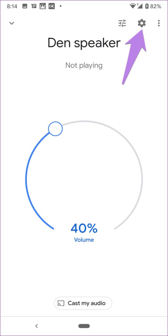 Mini alarme doméstico do Google 5