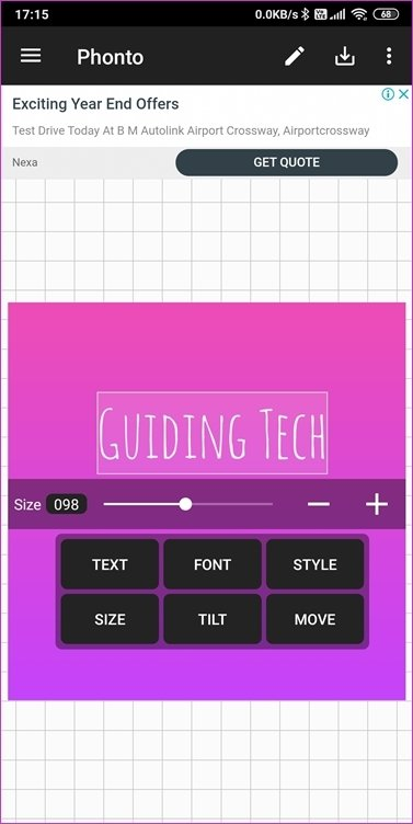 Aplicativos de fontes para Android 8