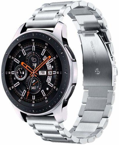 Bracelete de metal v-moro para samsung galaxy watch 46mm