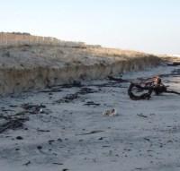 Côte Atlantique : les flots pourraient avaler  50 mètres de sable d'ici à 2050