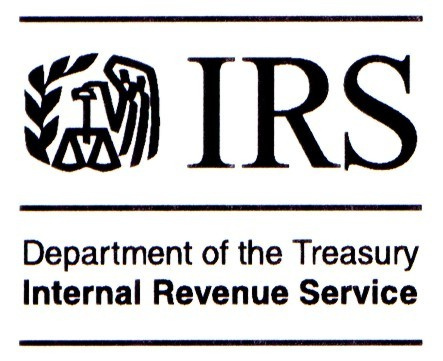 Department of the Treasury, Internal Revenue Service Logo