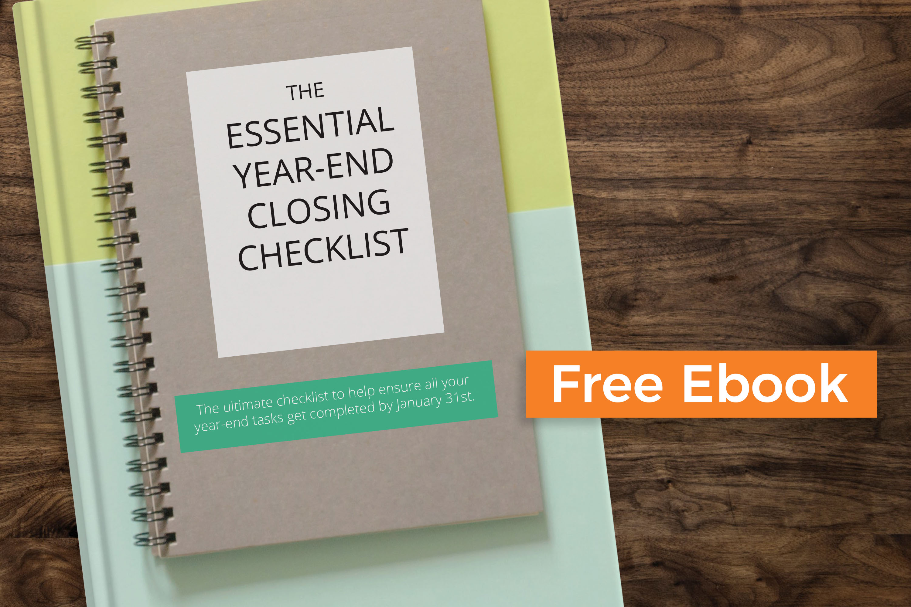 Free eBook: The Essential Year-End Closing Checklist For Nonprofits & Churches