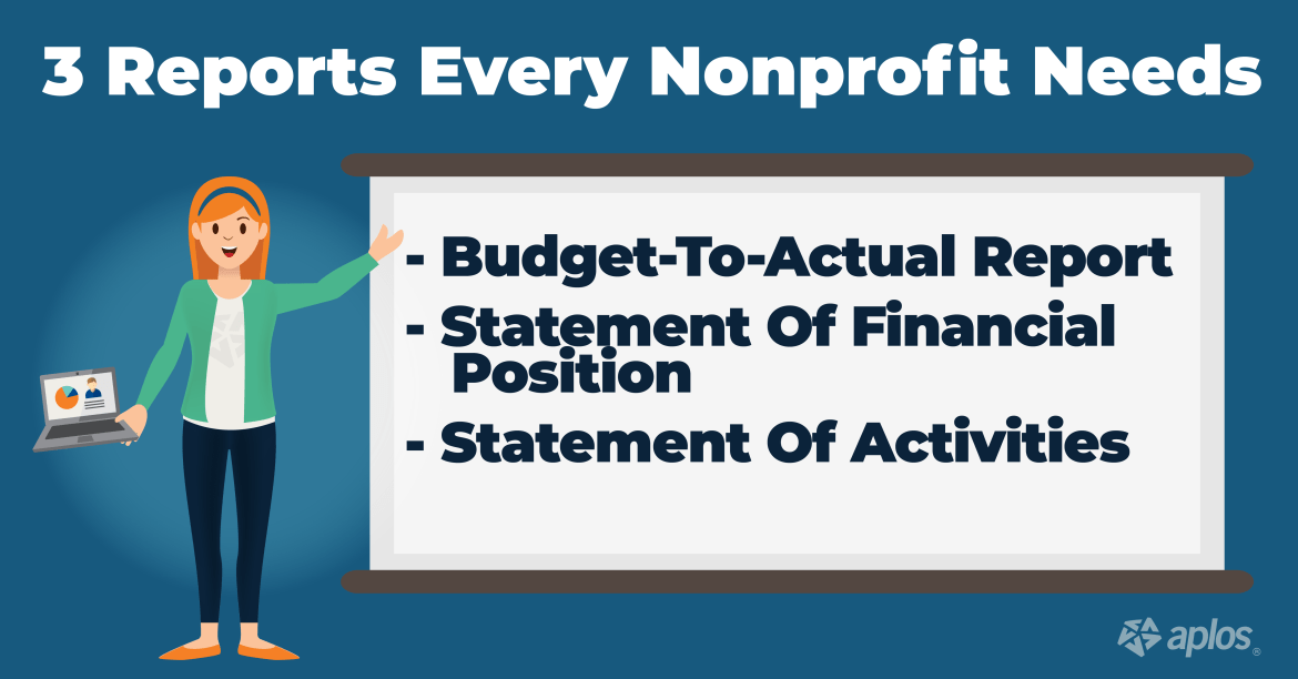 Nonprofit Financials: 3 Reports Every Nonprofit Needs