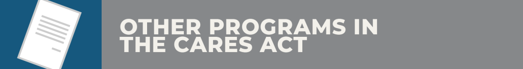 cares act programs