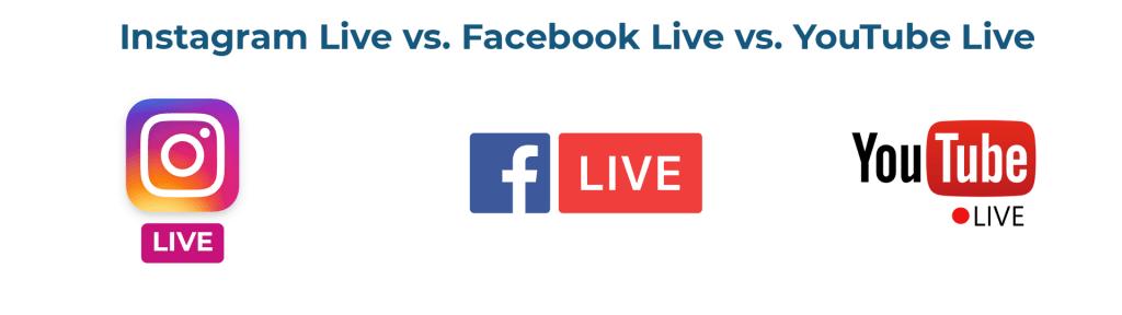 Live Social Media Streaming Banner