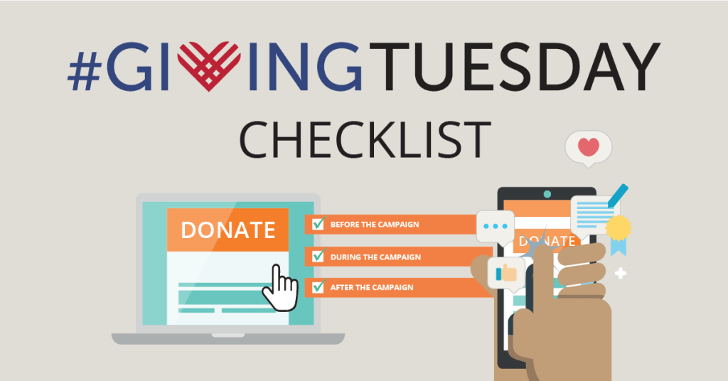 giving tuesday checklist ideas
