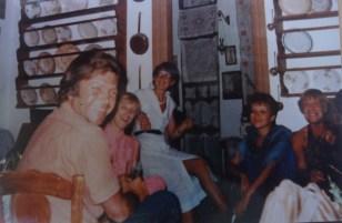 Αριστερά ο Δημήτρης Σταμπόλος