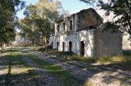 Βαγγέλης Πυρπυλής, σιδηροδρομικός σταθμός Κρυονερίου Αιτωλοακαρνανίας