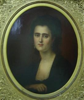 Jenny, κόρη του Ιωάννη Σκυλίτση και της Αλεξάνδρας Μαυροκορδάτου, σύζυγος του Παντελή Α. Μαυροκορδάτου, 1847-1931, Βιβλιοθήκη «Κοραής