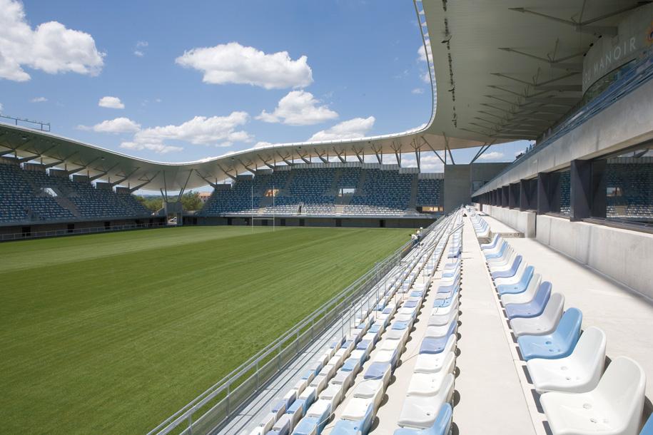 AArchitecture Stade Yves Du Manoir