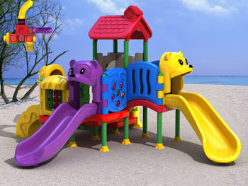 Plastic Outdoor Play Station