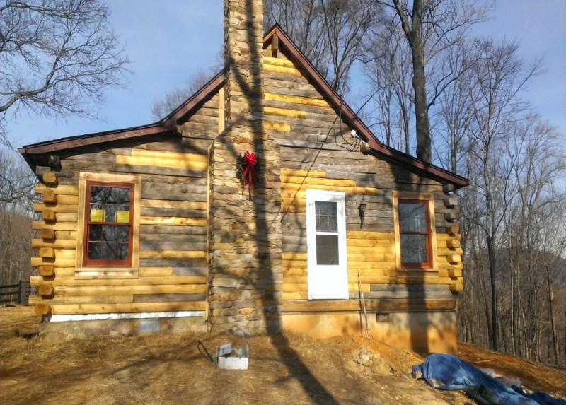 interior log home cleaning On log cabin restoration virginia