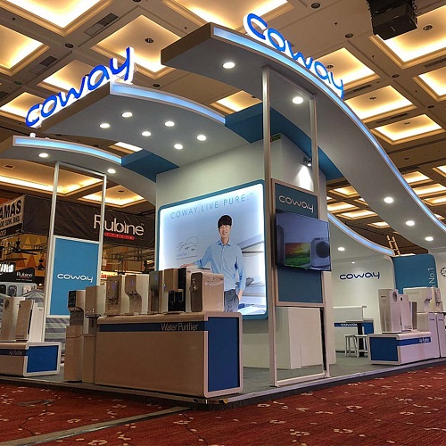 exhibition booth lighting trade show
