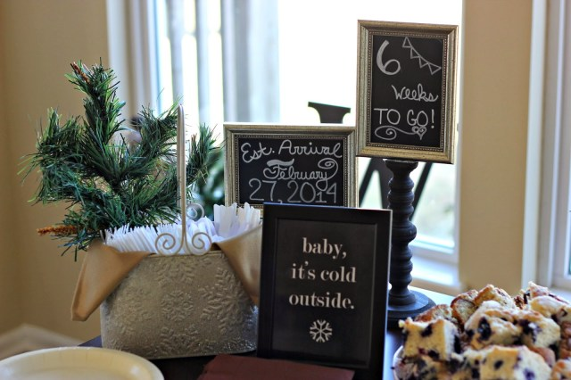 Baby It's Cold Outside Baby Shower
