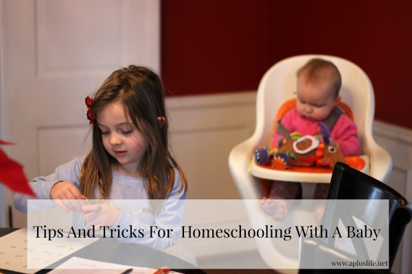 How To Homeschool With A Baby