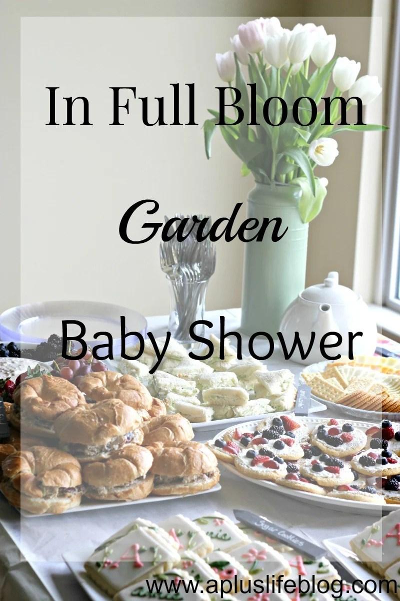 Garden Baby Shower