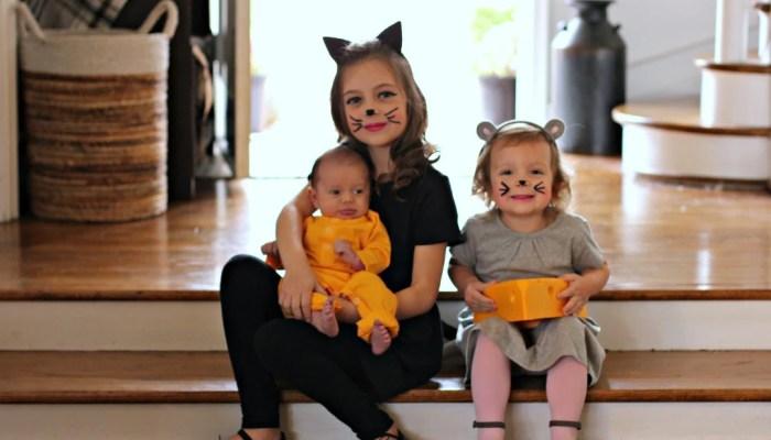 Happy Halloween From The Spena Three!