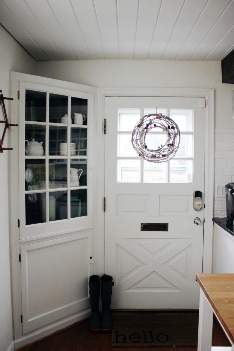 Our Kitchen Door Paint Makeover A Life