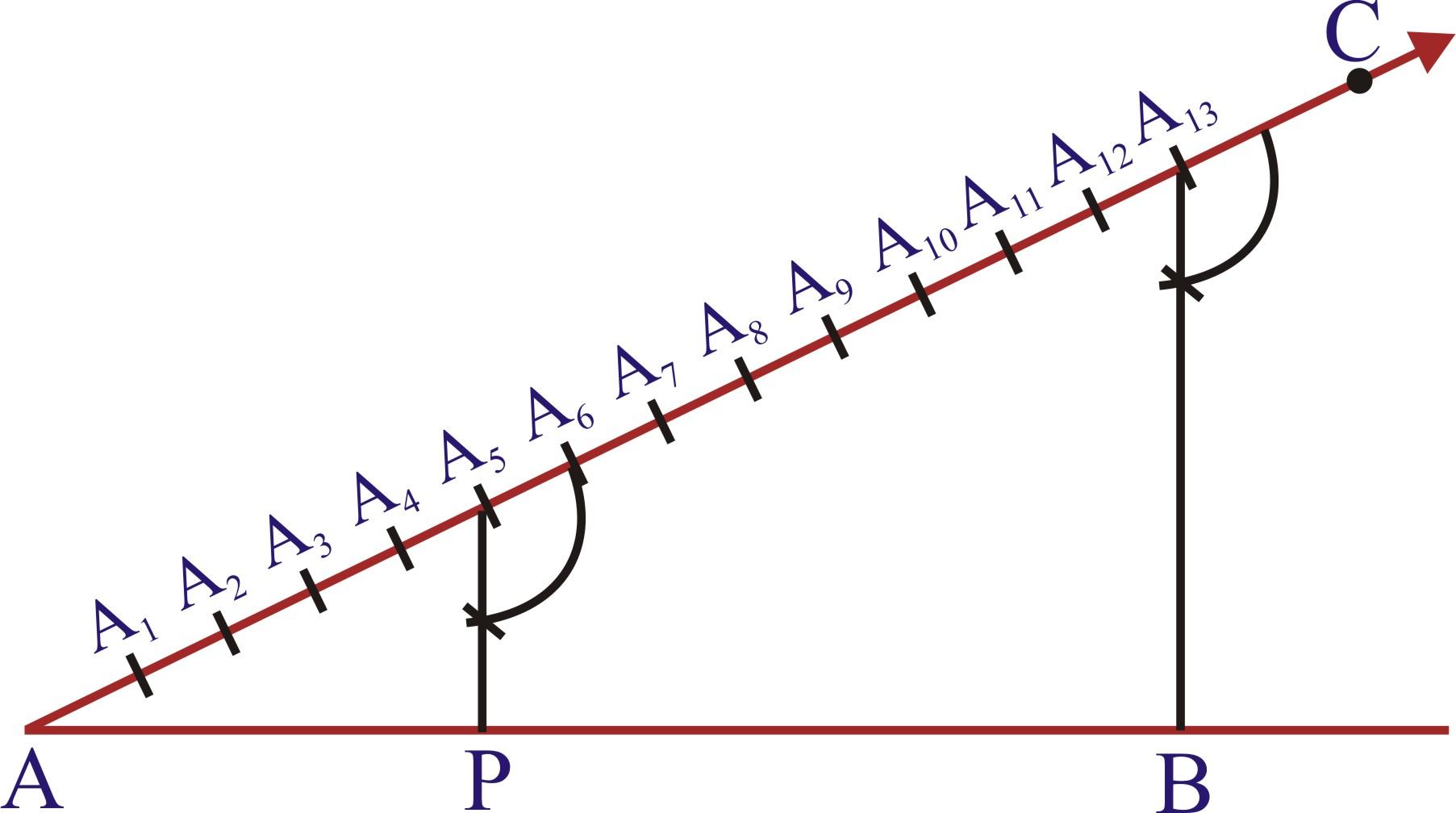 Division Of A Line Segment Into A Given Ratio