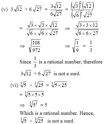 surds problems and solutions pdf
