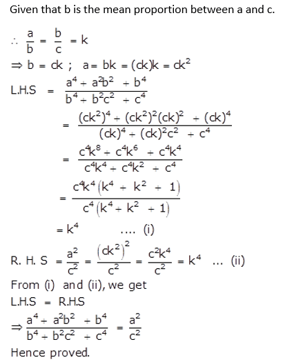 Selina Concise Mathematics Class 10 ICSE Solutions Ratio and Proportion (Including Properties and Uses) ex 7d q25