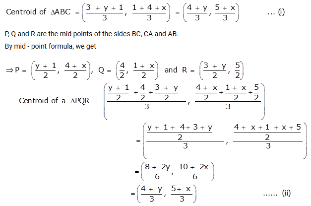 Selina Concise Mathematics Class 10 ICSE Solutions Section and Mid-Point Formula Ex 13b q22