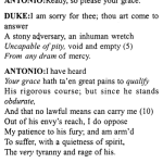 Merchant of Venice Act 4, Scene 1 Translation Meaning Annotations 1