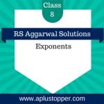 RS Aggarwal Class 8 Solutions Ch 2 Exponents