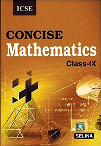 Concise-Mathematics-Class-9-ICSE-Solutio