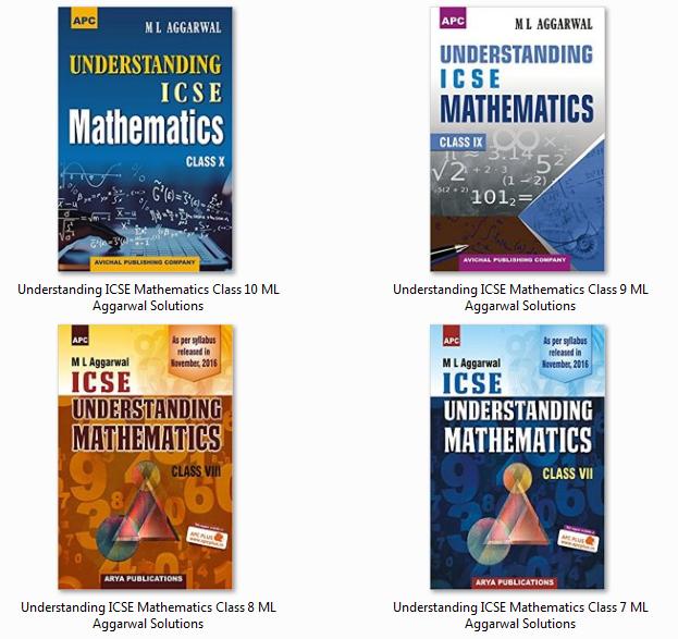 Understanding ICSE Mathematics ML Aggarwal Solutions
