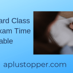 AP Board Class 12th Exam Time Table