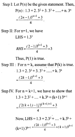 HSSLive Plus One Maths Chapter Wise Questions and Answers Chapter 4 Principle of Mathematical Induction 9