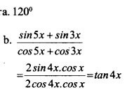 HSSlive Plus One Maths Chapter Wise Questions and Answers Chapter 3 Trigonometric Functions 13
