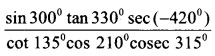 HSSlive Plus One Maths Chapter Wise Questions and Answers Chapter 3 Trigonometric Functions 15