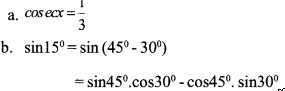 HSSlive Plus One Maths Chapter Wise Questions and Answers Chapter 3 Trigonometric Functions 27