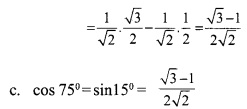 HSSlive Plus One Maths Chapter Wise Questions and Answers Chapter 3 Trigonometric Functions 28