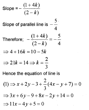 Plus One Maths Chapter Wise Previous Questions Chapter 10 Straight Lines 32