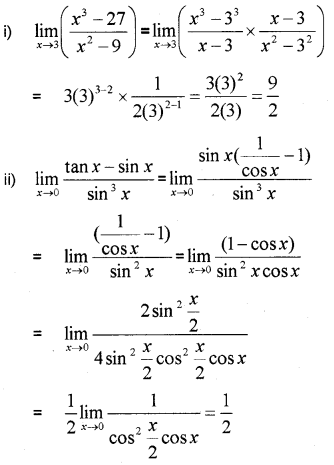 Plus One Maths Chapter Wise Previous Questions Chapter 13 Limits and Derivatives 35