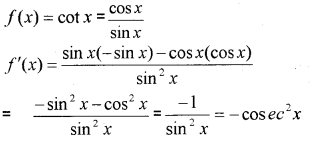 Plus One Maths Chapter Wise Previous Questions Chapter 13 Limits and Derivatives 7