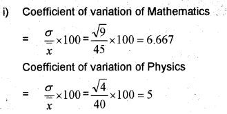Plus One Maths Chapter Wise Previous Questions Chapter 15 Statistics 11