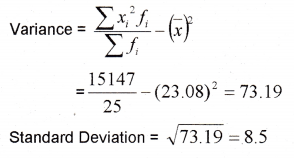 Plus One Maths Chapter Wise Previous Questions Chapter 15 Statistics 20