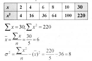 Plus One Maths Chapter Wise Previous Questions Chapter 15 Statistics 45
